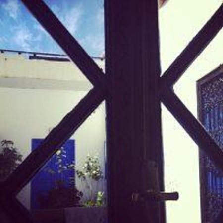 RIAD AYADINA : Vue de la chambre Alicia