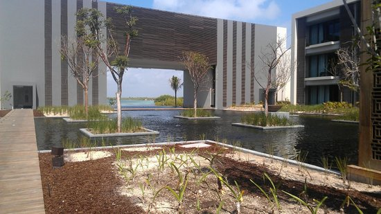 NIZUC Resort and Spa : reflecting pool