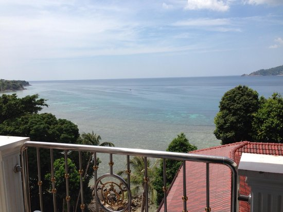 Blue Ocean Beach Resort: Вид с балкона