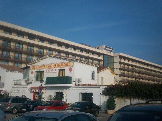 VIK Gran hotel Costa del Sol: les odeurs du restaurant chinois dans l'hotel