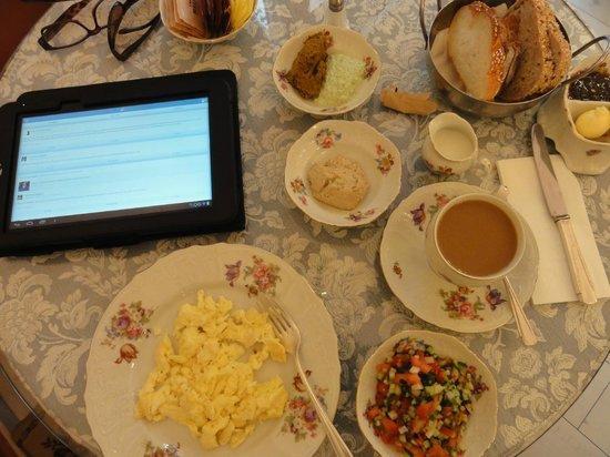Peer Guest House: my breakfast