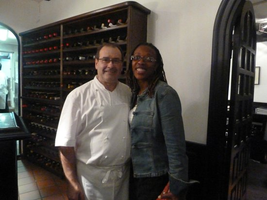 Zuberoa: Chef Hilario Arbelaitz and me after I finished his masterful creations
