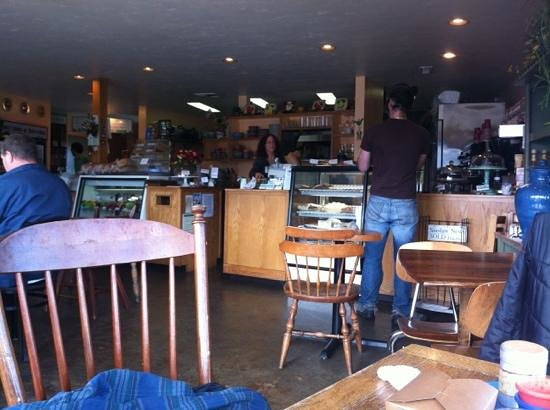 Nature's Corner Cafe and Market : counter view