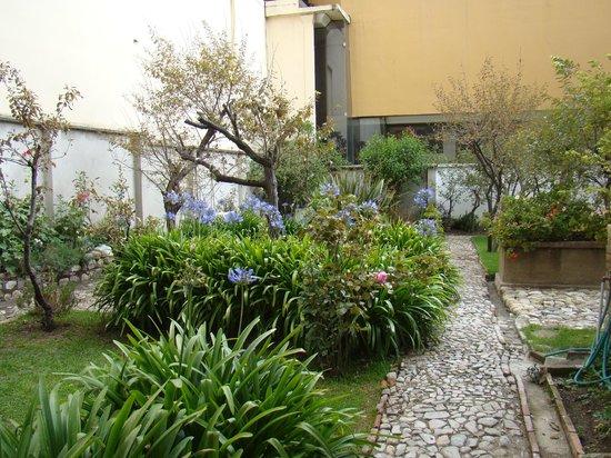 """Hotel Boutique """"El Consulado"""": Jardín"""