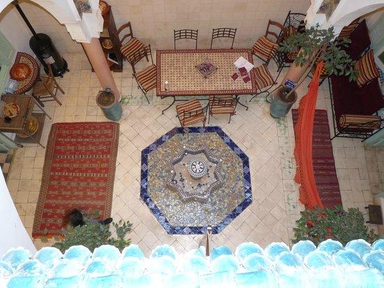 Riad Harmonie Maison d'hotes : Ingresso del riad e sala colazione