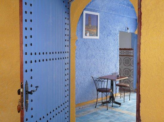 Casa Annasr: Terrazzo della camera