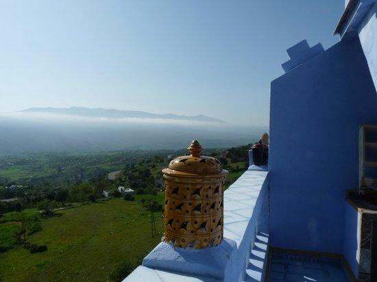 Casa Annasr: Vista dal terrazzo