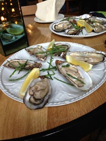 The Harbour Inn: oysters