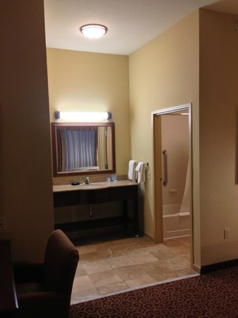 Hampton Inn & Suites Rochester - North : bathroom sink