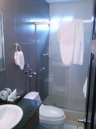 Avila Hotel Panama: el baño es limpio las toallas limpias