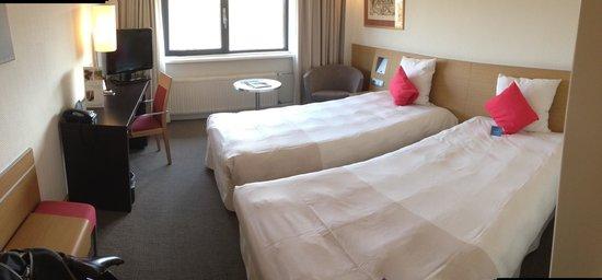 Novotel Amsterdam City: Bedroom.