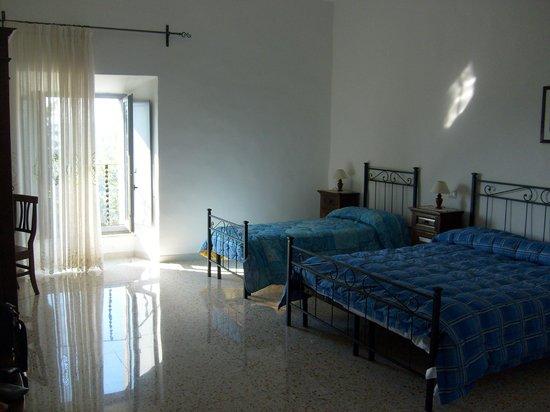 Villa Mercede : la nostra camera
