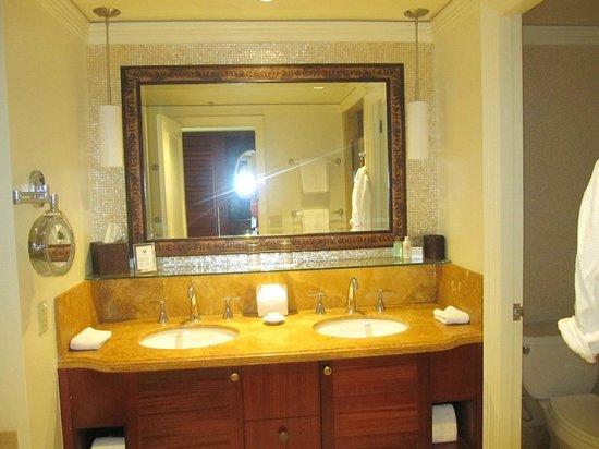 The Ritz-Carlton, Kapalua: Bathroom