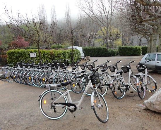 Sun-e-Bike : la réception des vélos le matin