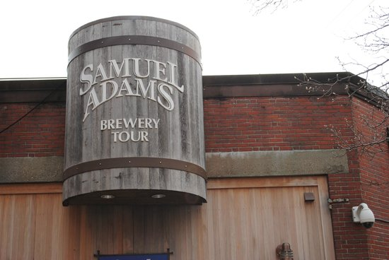 Samuel Adams Brewery : Entrance