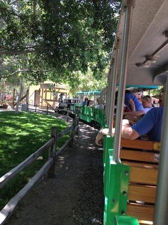 Irvine Park Railroad: train ride