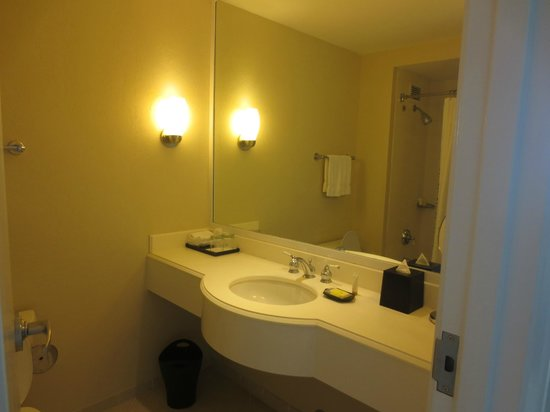 Grand Lucayan, Bahamas: The bathroom