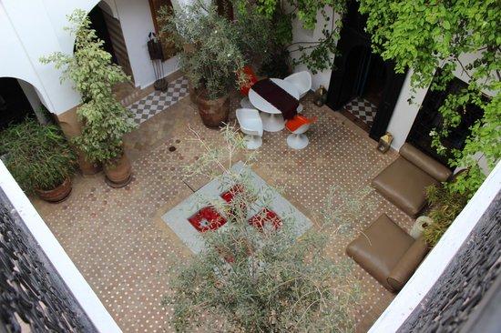 Riad Magellan Yoga: le patio