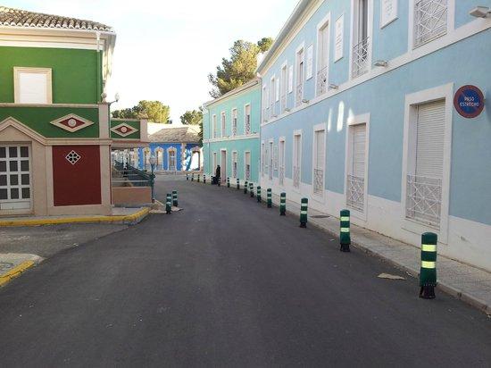 Fortuna, Spania: calle de hoteles