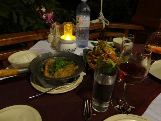 Kuramathi Island Resort: Resto Thai Siam