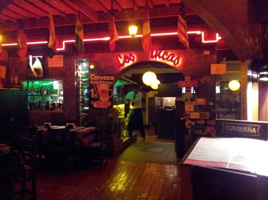 Foto De Los Incas Lima Frente Del Restaurante Tripadvisor