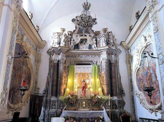Chiesa di San Pancrazio : Altare maggiore