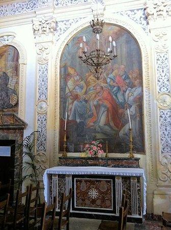 Chiesa di San Pancrazio : Altare di S. Massimo