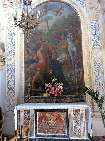 Chiesa di San Pancrazio : Altare di S. Nicone