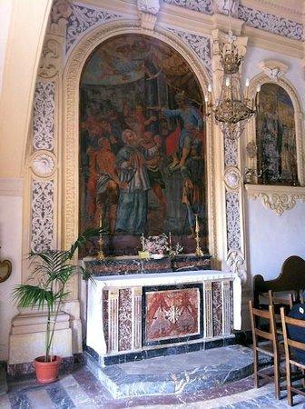 Chiesa di San Pancrazio : Altare di S. Procopio