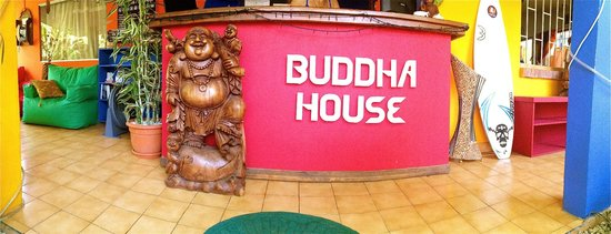 Buddha House Boutique Hostel: Reception
