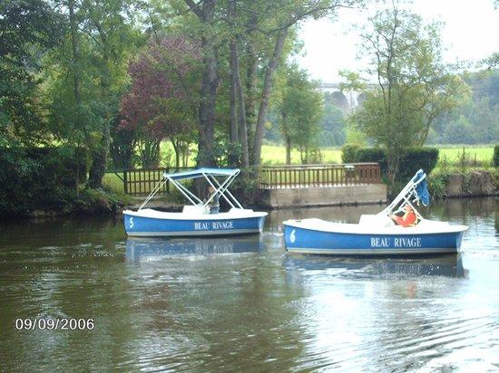 Clecy, Frankrike: location bateau électrique à Clécy