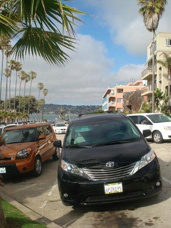 La Jolla Shores Park: parking