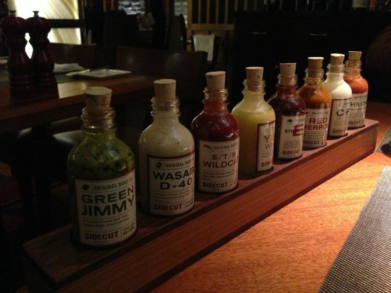 Four Seasons Resort and Residences Whistler: Sauces