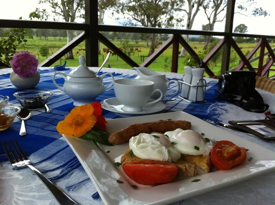 Feathers Home Stay: Breakfast