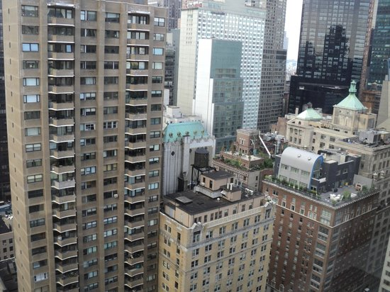 Park Lane Hotel: Vista da janela