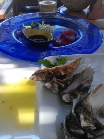 Clubhouse 27: Oysters, tuna and olive oil