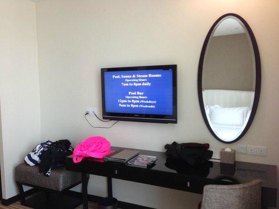 Hatten Hotel Melaka: Our room