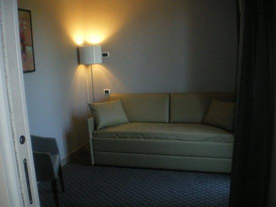BEST WESTERN Art Hotel Noba: Living room