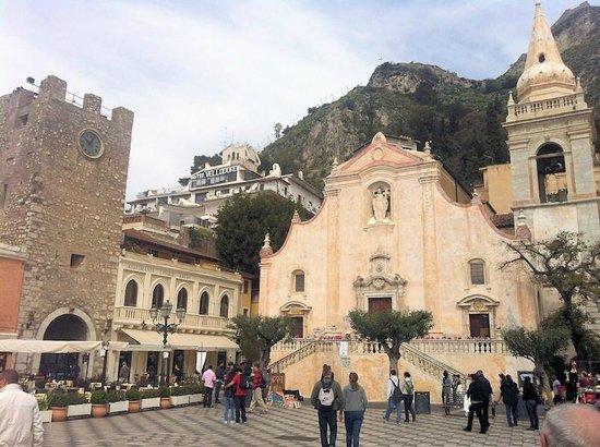 Taormina, İtalya: La facciata