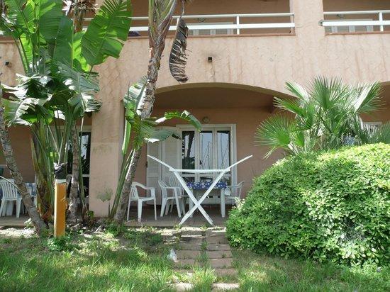 Portorosa Residence: terrazza dell'appartamento