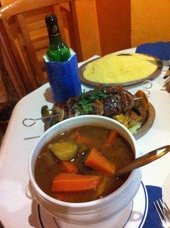 Chez Jaafar : couscous royal