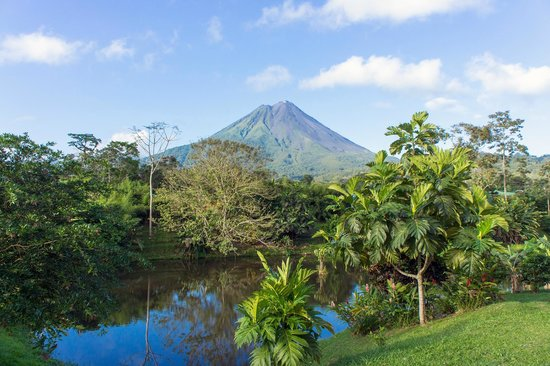 Arenal Manoa Hotel: Absolutely stunning views of the volcano from the restaurant