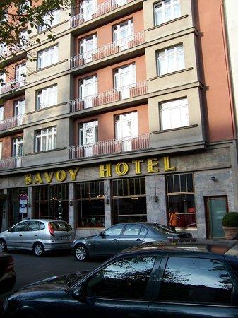 Savoy Hotel Berlin: Fachada