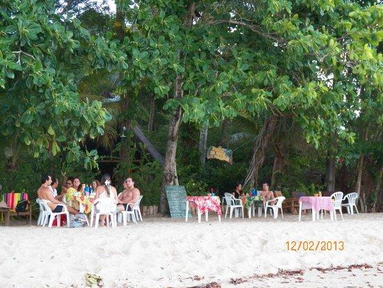 Pousada Pouso da Mare: O bar que funcionava na parte da tarde até o pôr do sol
