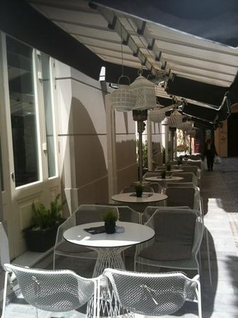 3Sixty : outdoor area