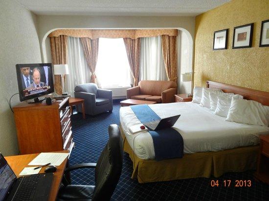 Holiday Inn Express Hotel & Suites Nashville - I-40 & 1-24 (Spence Lane) : King Suite