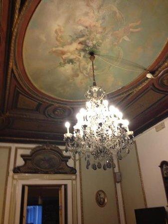 Hotel Bretagna: salão