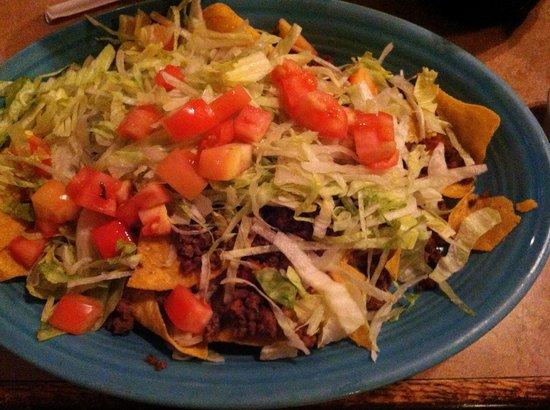 La Hacienda Mexican Restaurant: nachos