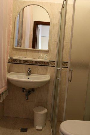 Hotel Montepiana: Baño