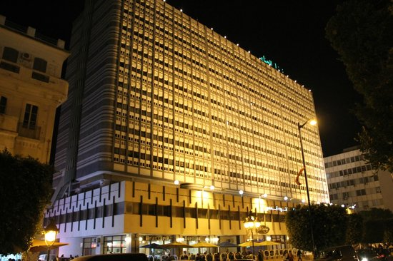 El Hana International: ホテル外観